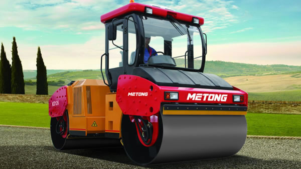 Single Drum Vibratory Roller (Full Hydraulic Road Roller, Model KS142D)